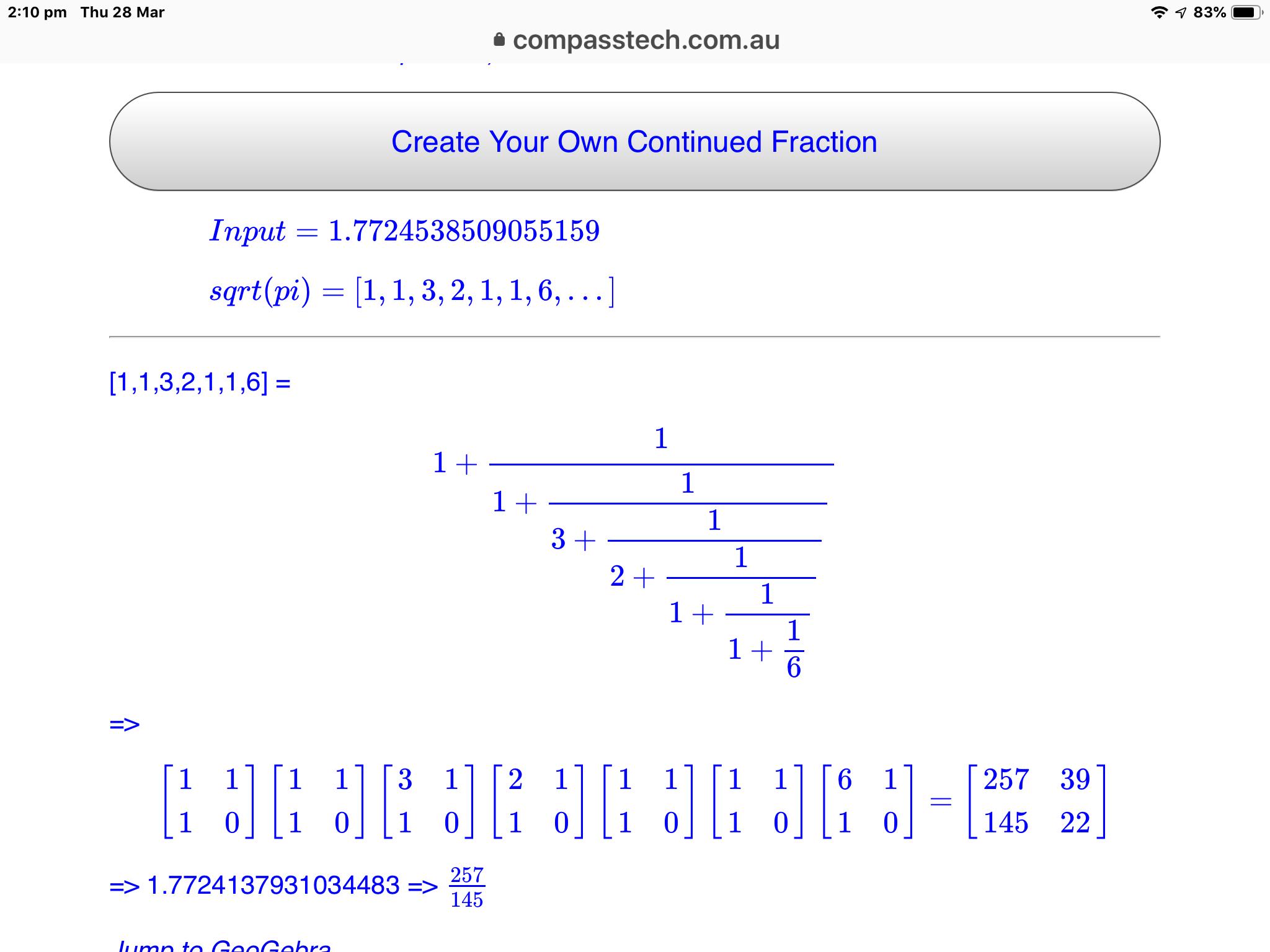 Live Mathematics and STEM on the Web